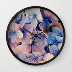 Blue Dreams Wall Clock