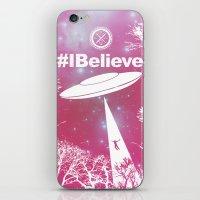 #Ibelieve UFO iPhone & iPod Skin