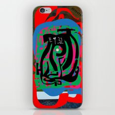 Hearts and Minds Are Not Straight Lines Never Let The Mind Go Asinine  iPhone & iPod Skin