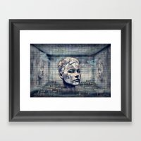 Phasenspektrum Framed Art Print