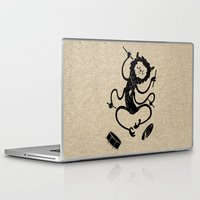 monster Laptop & iPad Skins featuring Monster by Anna Volk