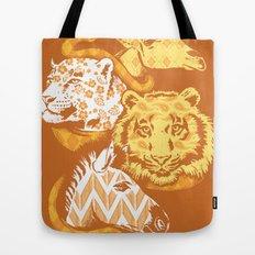Animal Prints Tote Bag