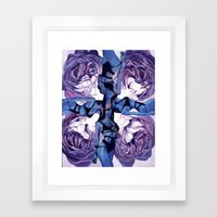 When the muse appears to you Framed Art Print