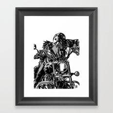 Gang Girl Framed Art Print