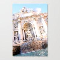 Trevi Fountain Canvas Print