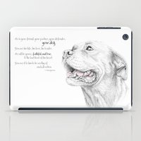 Murphy :: Loyalty [with Quote] iPad Case