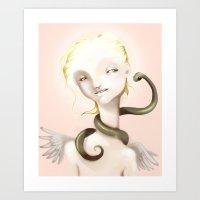 Good And Evil Art Print