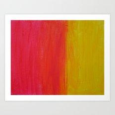 Sunset-Haze Art Print