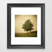 Autumn Breeze Framed Art Print