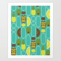 Tiki Weekend Art Print