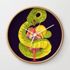 Viper on a Diet Wall Clock
