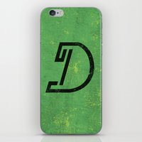 Letter D - Letter A Day Project iPhone & iPod Skin