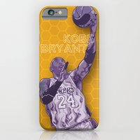 iPhone & iPod Case featuring Bleed Purple and Gold by Johnaddyn