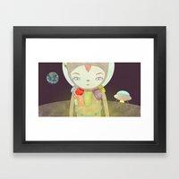 탐사 TO YOUR HEART TO … Framed Art Print