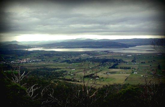 Tasmania's rural & mountainscape Scenery Art Print