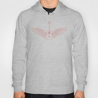 Flying Guitar. Hoody