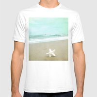 If I Were A Star Mens Fitted Tee White SMALL