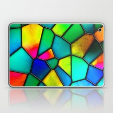 colorful stained glass Laptop & iPad Skin
