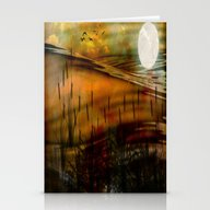 Aura Of Tranquillity Stationery Cards
