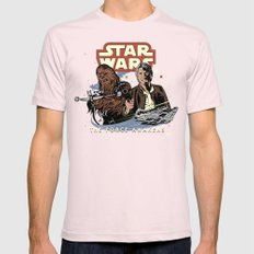 Chewie, We're Home Light Pink Mens Fitted Tee SMALL