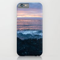 iPhone & iPod Case featuring Violet Coast by Caleb Troy
