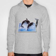 Leaping Orcas Hoody