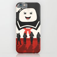 iPhone Cases featuring Ghostbusters by Bill Pyle