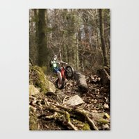 Where We're Going We Don… Canvas Print