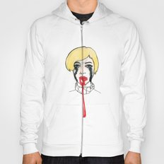 Pain - the look when you are mentally stress out - to death. Hoody