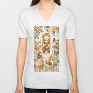 The Queen Of Pentacles Unisex V-Neck