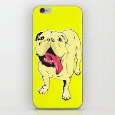 Greta the Bulldog iPhone & iPod Skin