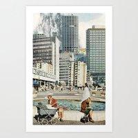 Explosions Art Print