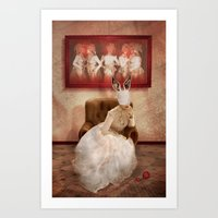 Strange things happen... Art Print