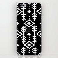 BLACK NORDIC iPhone & iPod Skin