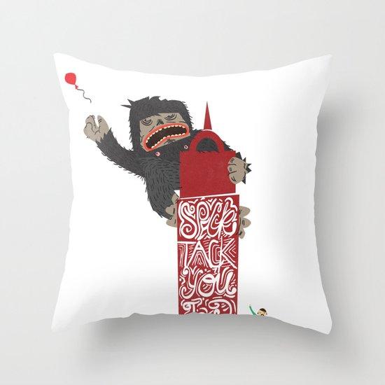 Speck Tack You Lur Deeds Throw Pillow