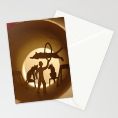 Circus. Lion tamer (Cirque. Dompteur) Stationery Cards