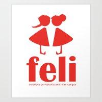 Feli Art Print