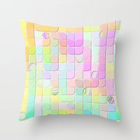 Re-Created 0 by Robert S. Lee Throw Pillow