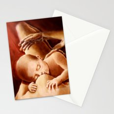 With Mother's eyes Stationery Cards