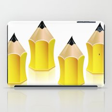 Stylized Pencil Artwork (Vector) iPad Case