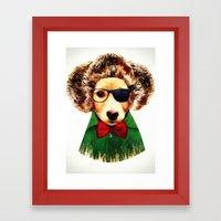 Dog ( Ben) Framed Art Print