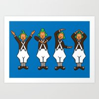 Oompa Loompa YMCA Art Print