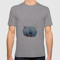 BRIDGES AND BALLOONS Mens Fitted Tee Athletic Grey SMALL