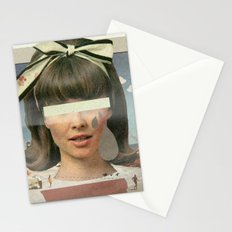 Tears In The Typing Pool | Collage Stationery Cards
