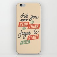 Ever Stop iPhone & iPod Skin