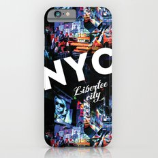 NEW-YORK (LIBERTEE CITY) Slim Case iPhone 6s