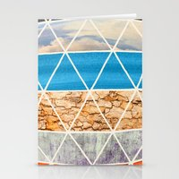 Eco Geodesic  Stationery Cards