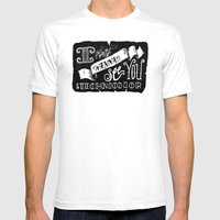 I Wanna See You In Techn… Mens Fitted Tee White SMALL