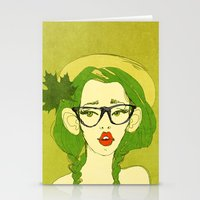 Selfie Girl_7 Stationery Cards