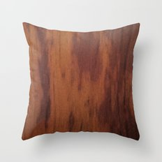 Wood Grain Throw Pillow